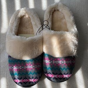 Slippers free with purchase!